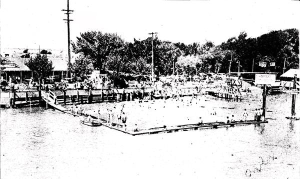 Farrar Park on Bethel Island, 1943
