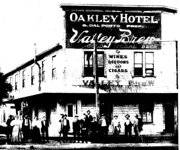 Oakley Hotel, circa 1910
