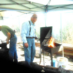 Dan Love, Blacksmither